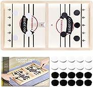 TOYDAZE Sling Foosball Fast Sling Puck Desktop Game, Slingshot Foosball Winner Board Puck Pass Family Night An