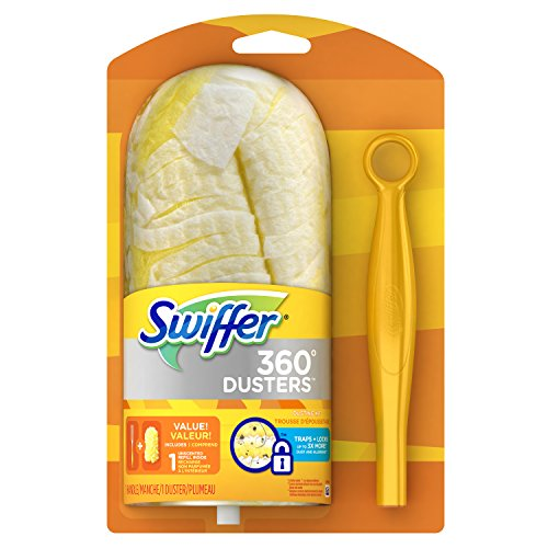 Swiffer 360 Dusters Short Handle Starter Kit 1 Count