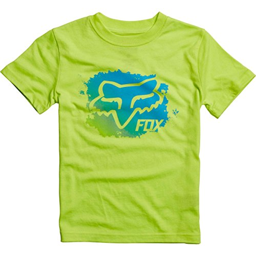 Price comparison product image Fox Racing Kids Mankato Short-Sleeve Shirt Medium Flo Yellow