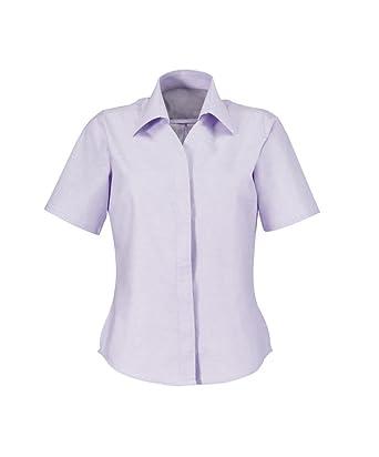 Alexandra stc-ng72li-20 camisa de Oxford de manga corta para ...