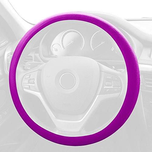 T Violet Steering Wheel Cover, 1 Pack ()