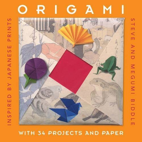 Inspired Channel Set - Origami: Inspired by Japanese Prints (Gift Sets) by Steve Biddle (2012-10-01)