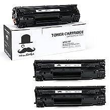 3 Pack Moustache ® Canon 137 (9435B001) Premium Quality New Compatible Black Toner Cartridge for Canon ImageClass LBP151dw MF212w MF216n MF217w MF227dw MF229dw MF232w MF236N MF244dw MF247dw MF249DW