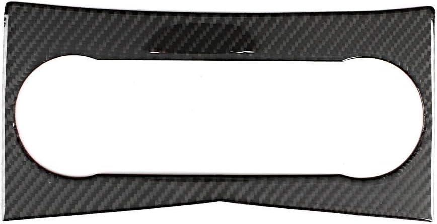 ajuste del ajuste de la cubierta del panel del aire acondicionado de la fibra de carbono del coche para W204 clase C 200 KIMISS Ajuste de la cubierta del panel del aire acondicionado