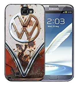 For Iphone 5C Case Cover BlackVW Bus Rusted Front End bumper grill Old School volkswagen