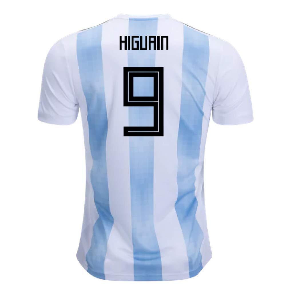 2018-19 Argentina Home Football Soccer T-Shirt Trikot (Gonzalo Higuain 9)