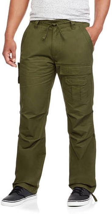 6184a31ce21 Phat Farm Men's Flight Cargo Pants (34, Olive) at Amazon Men's ...