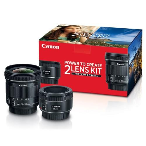 Canon Portrait and Travel Two Lens Kit with 50mm f/1.8 and 10-18mm Lenses (Canon Ef 15mm F 2-8 Fisheye Review)