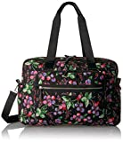 Vera Bradley Women's Iconic Deluxe Weekender Travel Bag-Signature