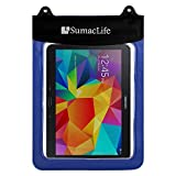 Sumaclife Waterproof Pouch Bag Case For HP HP Pavilion 10 x2 / HP 10 G2 Tablet (2301) / Lenovo ThinkPad 10 2 / Yoga Tab 3 / Lenovo Folder Pad / IdeaPad Miix 300-10 10.1-in Tablet (Blue)