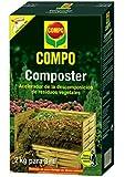 Compo Composter 2 kg Acelerador de descomposición de residuos Vegetales, 3 m², Negro