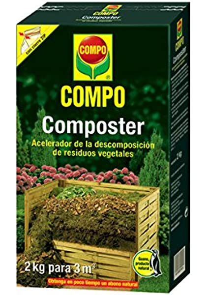 Keter - Compostador ECO, con capacidad de 320 L, Color gris ...