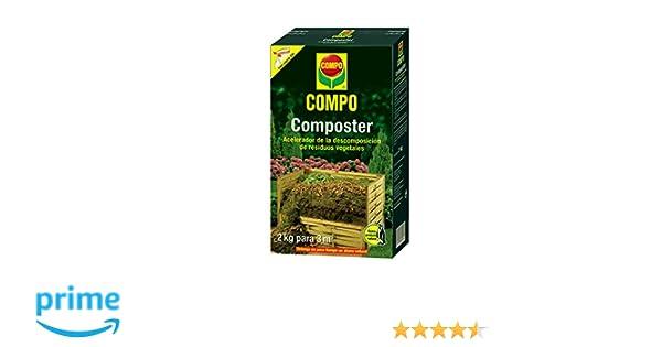 Compo 1721612011 Composter 2 Kg 32x18.399999999999999x7.65 cm: Amazon.es: Jardín