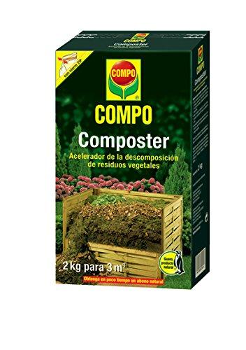 Compo 1721612011 Composter 2 Kg, 32x18.399999999999999x7.65 cm: Amazon.es: Jardín