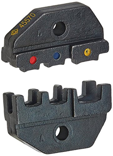 Greenlee 45570 Interchangeable Die Sets for Insulated Terminals 22-12 AWG