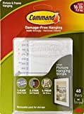 Tools & Hardware : Command Picture & Frame Hanging Strips, 96 Large Strips - 48 Pair