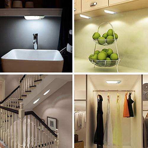 Quaanti Motion Sensor Light, LED Cupboard Light, Motion Sensor Wardrobe Light Portable Wireless Safe Light ON/Off/AUTO Mode Magnetic Install Anywhere for Cabinet/Closet (1PC) by Quaanti (Image #7)