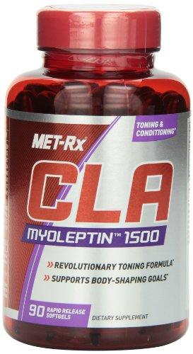 MET-Rx CLA-1500 Myoleptin régime Capsules de supplément, 90 comte