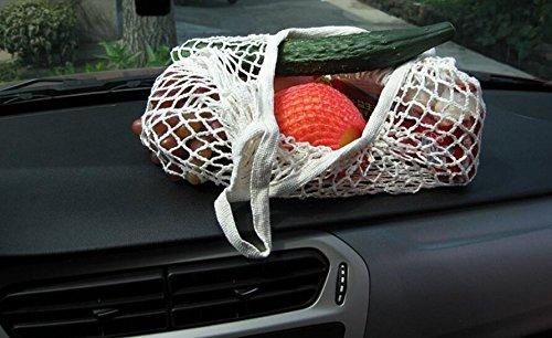 Aire Totalizador Bolso Embalaje Reutilizable Fruta Libre de para Portátil Malla Compras Verde Sabel Blanco Las Verdura La del de Compras al Almacenamiento de IR fxaqn
