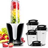 'Comfee 900W High Speed Professional Blender with 4 Sizes BPA Free Tritan Portable Sport Blender Bottles(32oz/24oz/18oz/12oz) and 4 Travel Lids. Personal Blender for Smoothies, Shakes, and Baby Food' from the web at 'https://images-na.ssl-images-amazon.com/images/I/51yacbk9aKL._AC_SR160,160_.jpg'