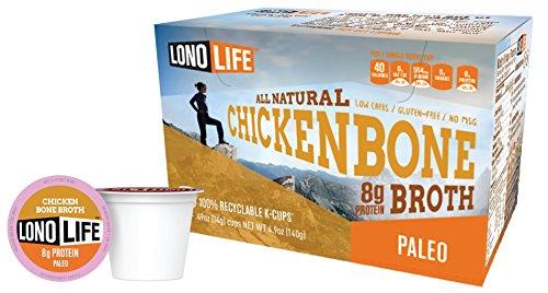LonoLife Chicken Bone Broth, 8 Gram (10 Count)