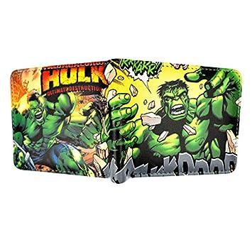 SWVV Monedero Corto Marvel Hulk Punisher X-Man Guardians of ...