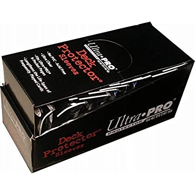 Ultra Pro PRO-MATTE (600 Count) White Deck Protector Sleeves - Magic the Gathering 12 Pack Box/Case: Toys & Games