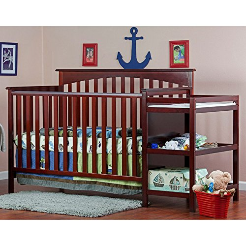 Dream-On-Me-Chloe-5-in-1-Convertible-Crib-with-Changer