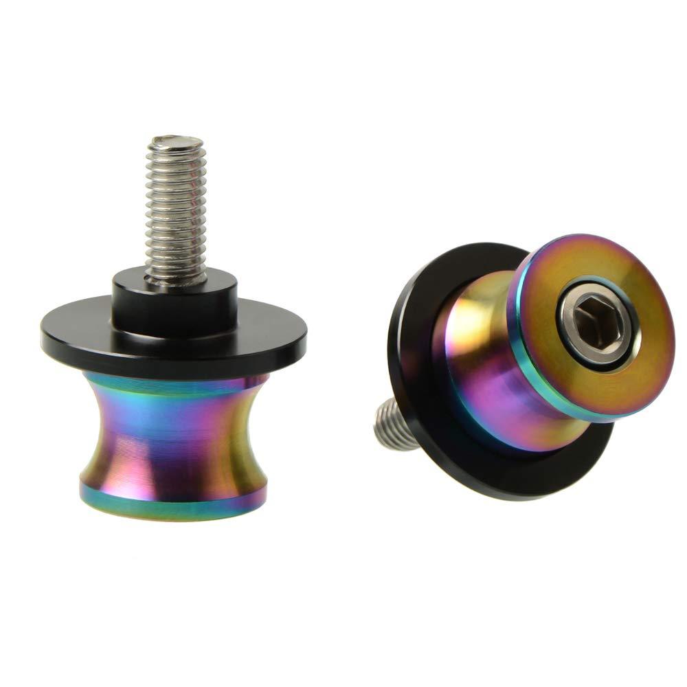 RSV4 R Tuono V4 R Dorsoduro M6 Bobbins Swingarm Spools Screws for Yamaha MT01 MT03 MT09 MT10 YZF R1 R3 R6 R25 R125 R1000 1000 750R R6S FZ1 FZ6 FZ8 FZS1000 FZS600 YZF600rsc B