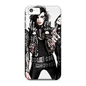 Perfect Hard Cell-phone Cases For Apple Iphone 5c With Provide Private Custom Stylish Black Veil Brides Band BVB Image WayneSnook