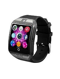 Antimi SmartWatch Sweatproof Smart Watch Phone for Android HTC Sony Samsung LG Google Pixel /Pixel and iPhone 5 5S 6 6 Plus 7 Smartphones Black