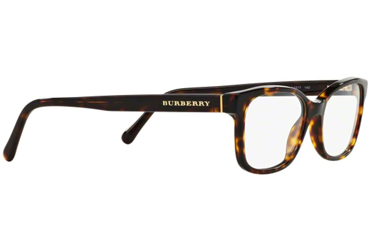 cd9b992689f Amazon.com  Burberry Women s Optical Frame Acetate Havana Frame Transparent  Lens Non-Polarized Glasses 52 0  Clothing