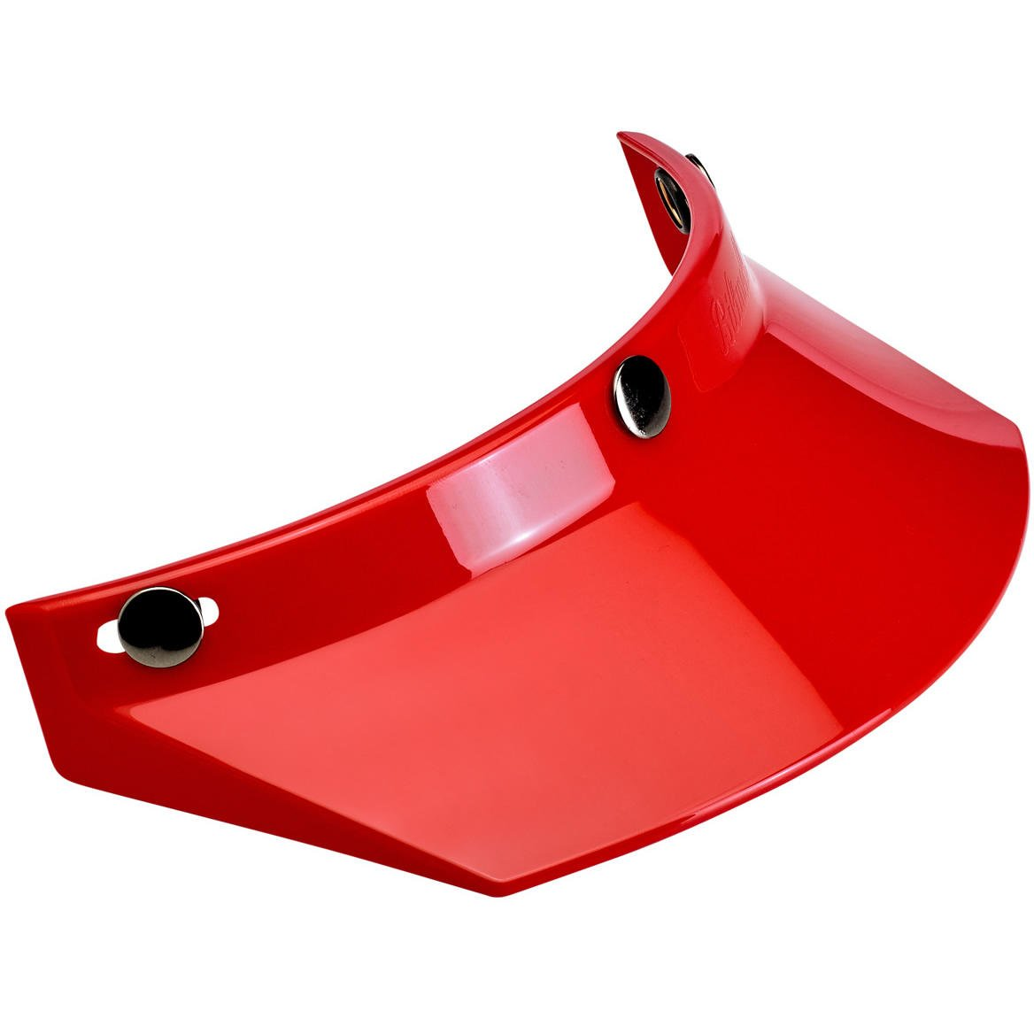 Biltwell Unisex-Adult 3 Snap Moto Visor (Red, Fits All) MV-RED-00-SD