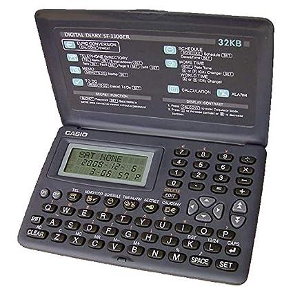 Agenda Electronica Casio SF-3300 32 Kb.