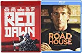 Patrick Swayze Action Blu Ray Red Dawn & Road House Double Feature Movie 80's Set