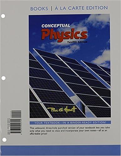 Amazon.com: Conceptual Physics, Books a la Carte Edition ...