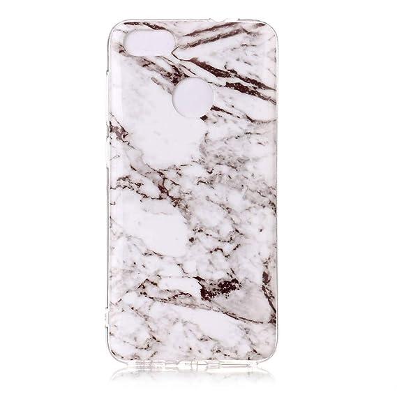 Amazon com: Huawei Y6 Pro 2017 Case, SATURCASE Unique Marble