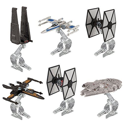 Hot Wheels Star Wars Starship Vehicle 6-Pack