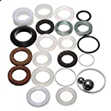 SODIAL(R) 23Pcs Sealing Ring Repair Kit For Ultra Graco Paint Sprayer 390 395 490 495 595