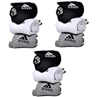 BuyBack® Set of 9 Pairs Logo Sports Ankle Length Cotton Towel Socks