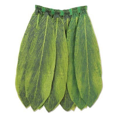 Beistle 60030 Ti Leaf Hula Skirt, 31