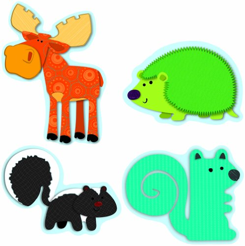 Carson Dellosa Moose and Friends Cut-Outs (120119) ()