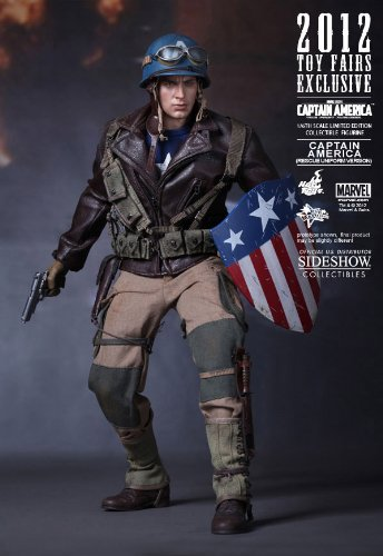 Captain America Hot Toys Sideshow First Avenger Rescue Version 2012 Toy Fairs ()