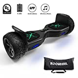 """Best Off Road Hoverboards - KOOWHEEL Off Road Hoverboard All Terrain 8.5"""" Alloy Review"""