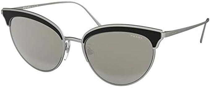 Prada 0PR 60VS Gafas de sol, Matte Silver/Black, 54 para ...