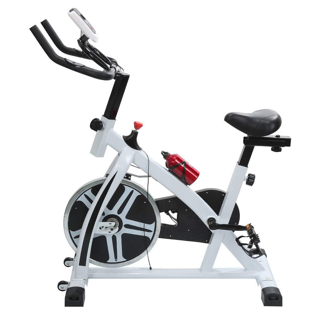 Turefans Indoor Cycling Bike - Profi-Heimtrainer Fahrrad für Zuhause bis 120 kg belastbar 8KG Schwungrad LED Display Integrierter Pulsmesser - DREI Farben