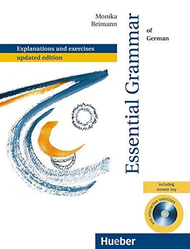 essential grammar of german with exercises deutsch als fremdsprache mit integriertem losungsschlussel und cd rom grundstufengrammatik zweisprachige