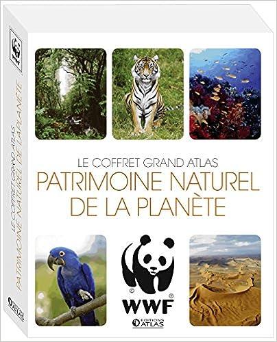 Téléchargement Patrimoine naturel de la planète : Coffret Les sites naturels du monde + Les animaux en danger pdf