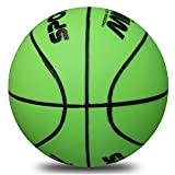 Mini Basketball, Stylife Soft Kids Basketball 5 inch Diameter(green)