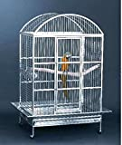 Large 304 Stainless Steel Bird Parrot Macaw...